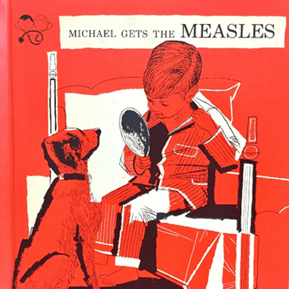 Michael Gets the Measles cover